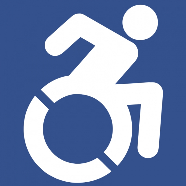 Revised accessibility symbol