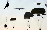 Army Parachuters