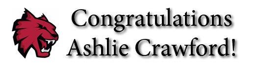 Congrats Ashlie!