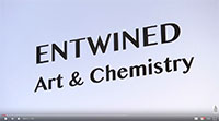 Entwined art and chemistry