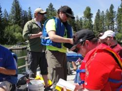 Image of Limnology field experience, spring 2009