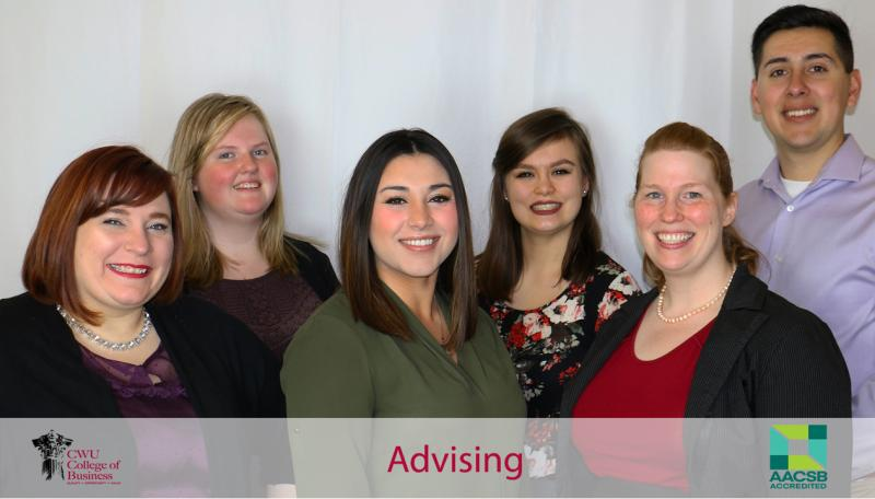 Photo of College of Business Advising Staff