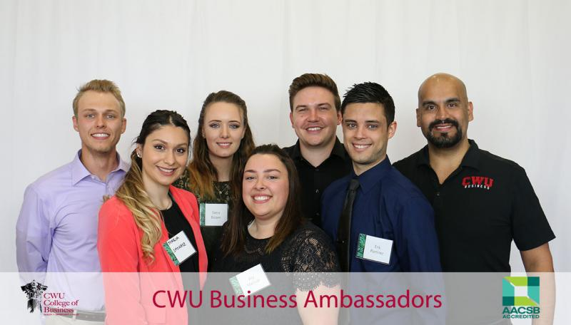 Photo of College of Business Ambassador Team