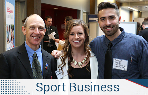 Image of sport business students