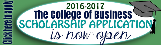 Apply now for the CWU Business Scholarship