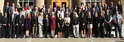 Image of College of Business faculty and staff