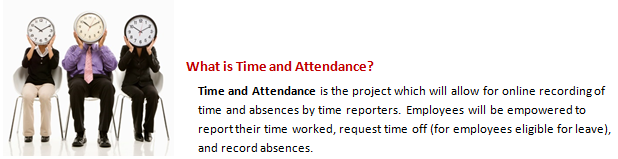 Time and Attendance Image and Introduction
