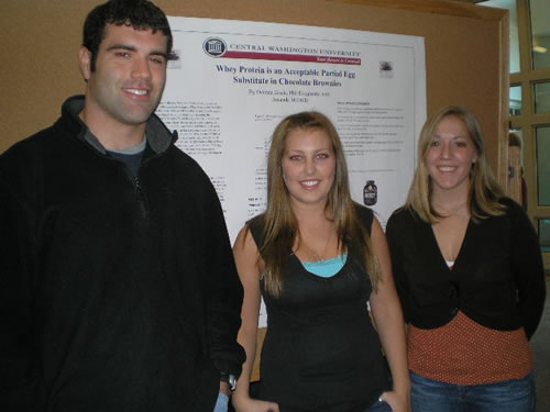 Amanda McBride, Deanna Eisele, and Philip Dougherty