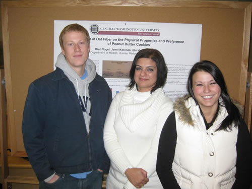 Brad Vogel, Jenni Korenek, and Quratulain Mansur