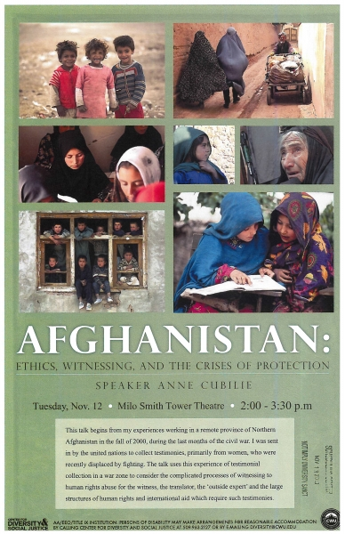 Afghanistan: Ethics, Witnessing, and the Crises of Protection
