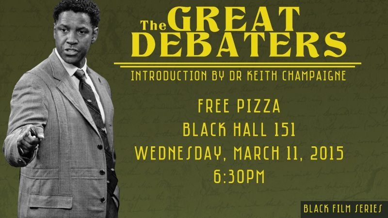 The Great Debaters Poster