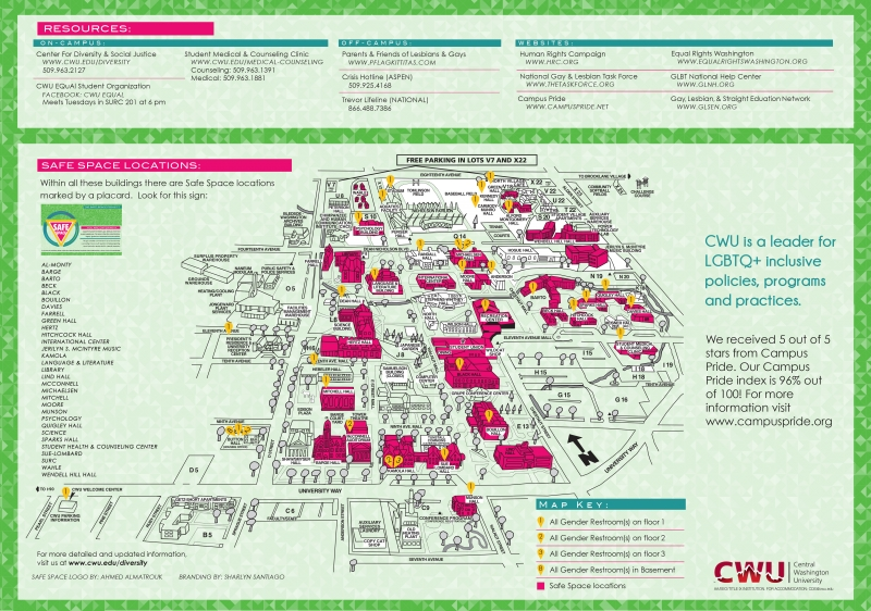 Diversity | Safe Space Project Map on map of spu campus, map of cfc campus, map of fda campus, map of ctc campus, map of utpb campus, map of mu campus, map of eou campus, map of scsu campus, map of the uw campus, map of wwu campus,