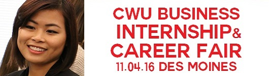 CWU Business Internship and Career Fair 11.4.16