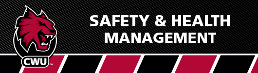 Safety and Health management home page banner