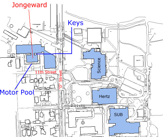 Map to Jongeward