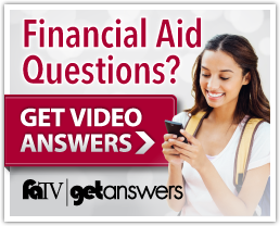 Financial aid questions? get video answers here