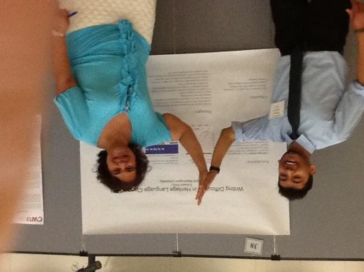 Edward Pinto and Dr. Abdalla at Source