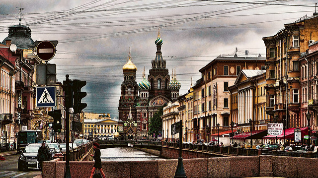 "Photo credit to Mariano Mantel. ""San Petersburgo - The church of the savior over the spilled blood."" Church in St. Petersburg."