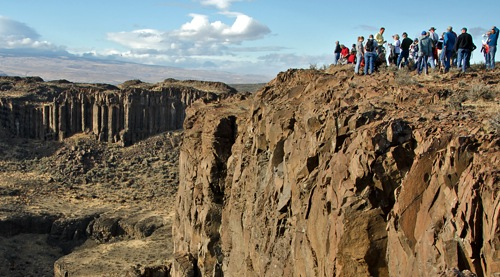 Geology Frenchman Coulee field trip