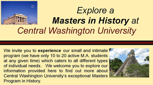 History Department Masters Program