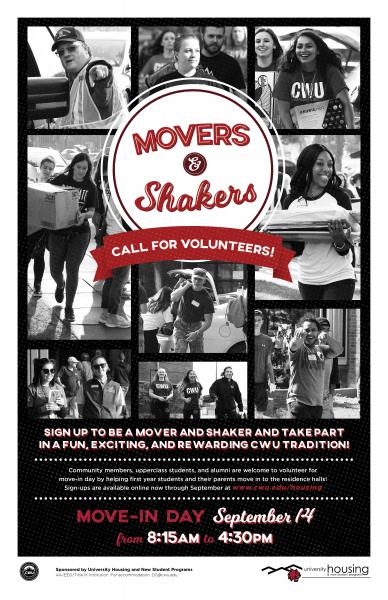 Movers and Shakers Poster