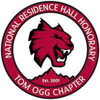 National Residence Hall Honory Tom Ogg Chapter Logo