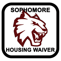 Sophomore Housing Waiver Button
