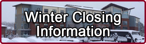 Click here for Winter Closing Information