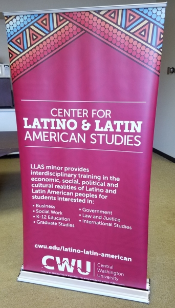Center for Latino and Latin American Studies Banner
