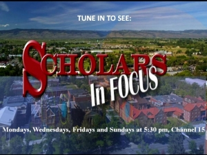 Picture of Scholars in Focus logo and link to videos
