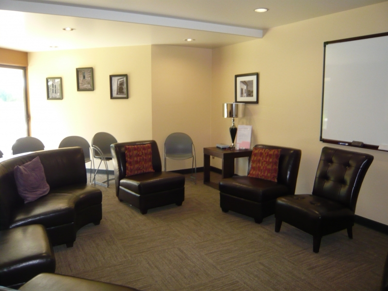 Counseling Clinic group room
