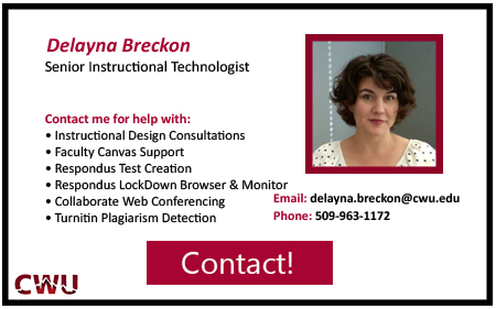 Delayna Breckon, Instructional Technologist