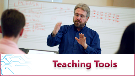 Teaching Tools Header