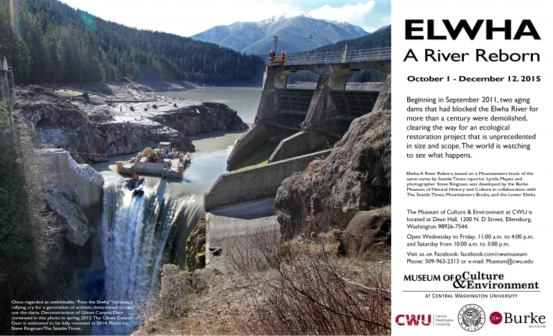Elwha Exhibit Promo Flyer