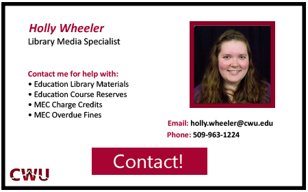 Holy Wheeler-Library Media Specialist