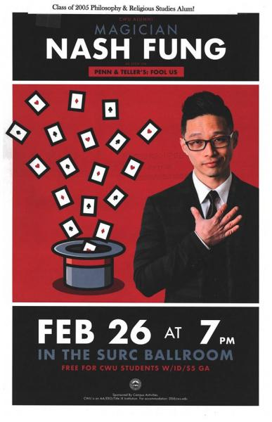 Poster for Nash Fung Magic Show