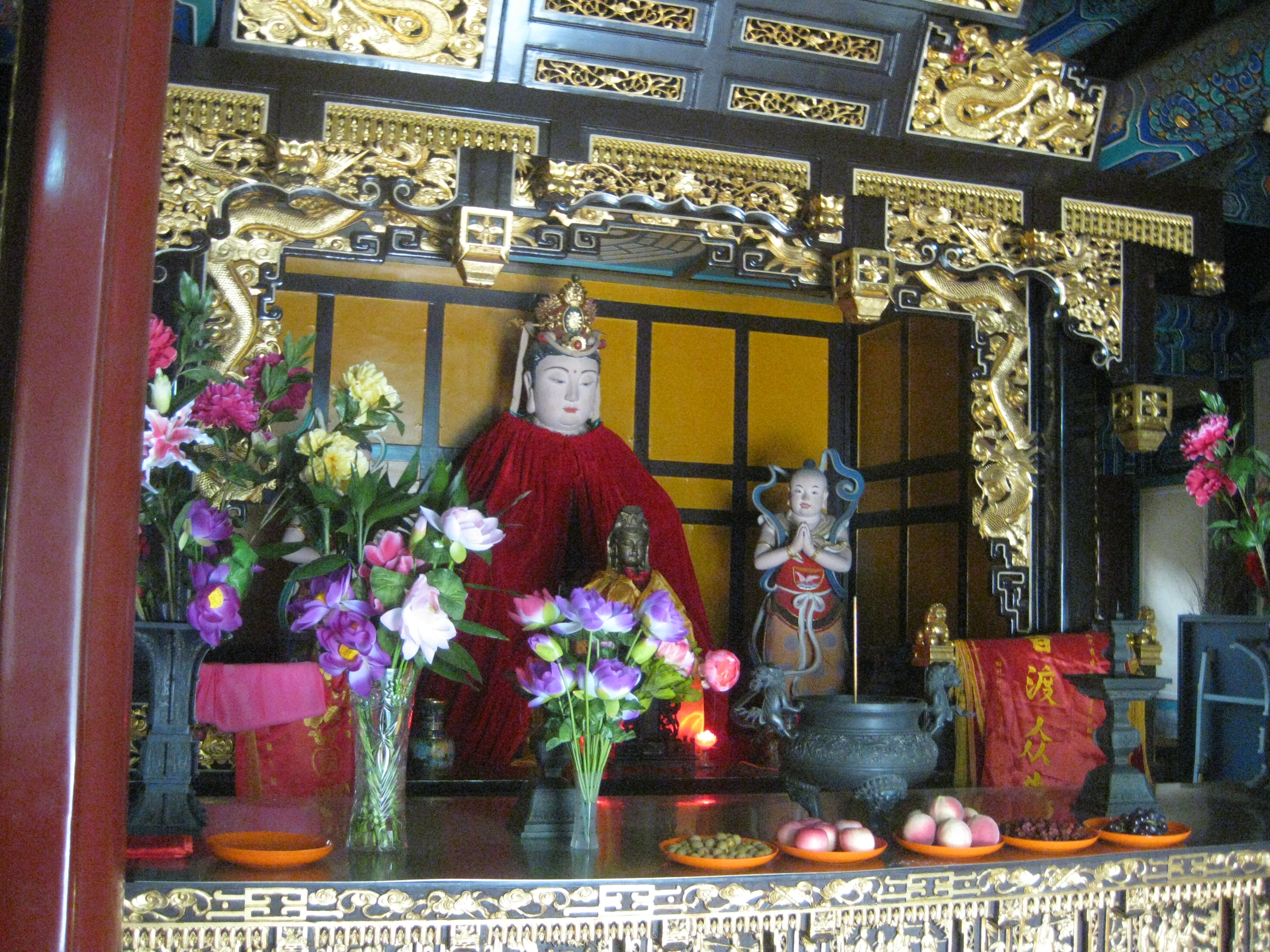 Guanyin in Daoist Temple