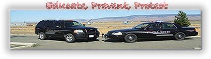 CWU Police Vehicles