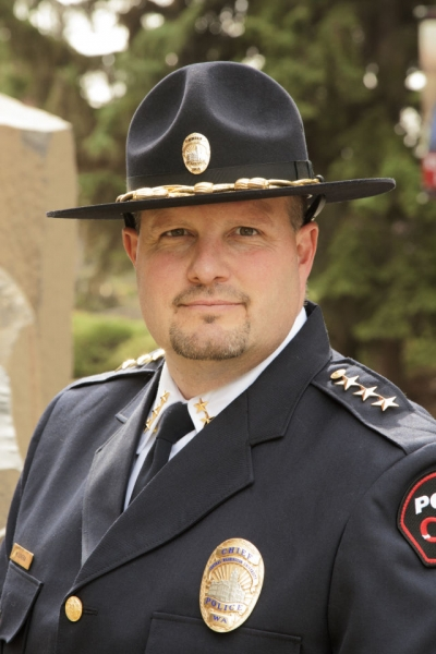 University Police Amp Public Safety Cwu Police Chief Honored