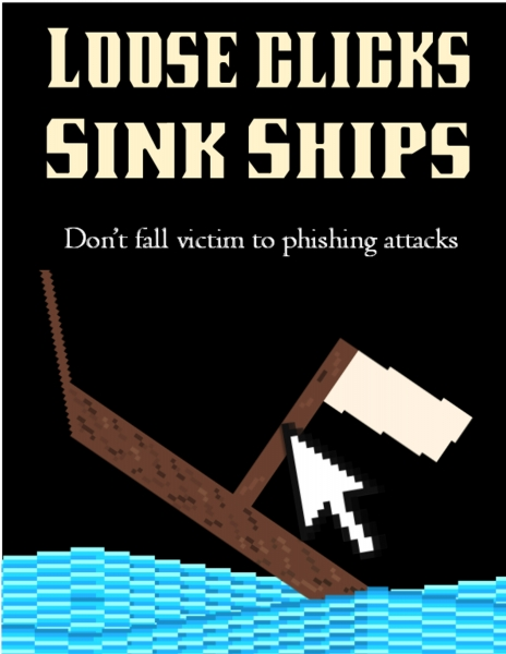 Loose clicks sink ships poster 1