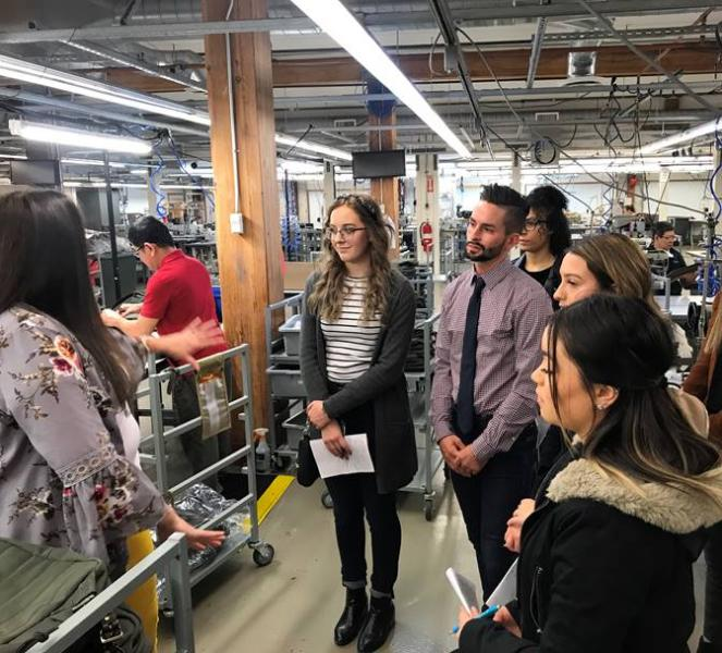 Apparel And Textiles Students Gain First Hand Exposure About How Industry Works Central Washington University