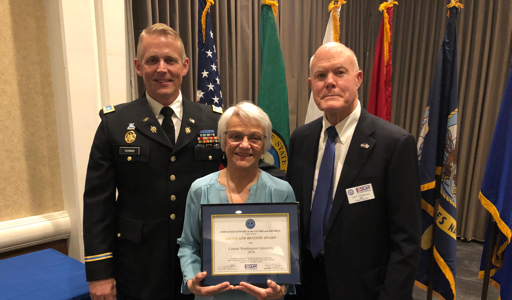 CWu officials receive state ESGR award