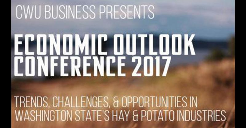 2017 CWU College of Business Economic Outlook Conference brpchure