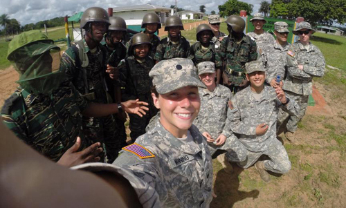 CWU Army ROTC cadets participate in specialized international training