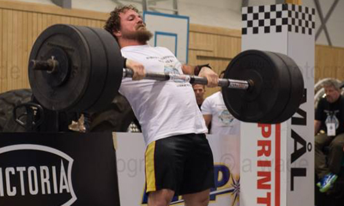 CWU Student Recognized as World's Strongest Man