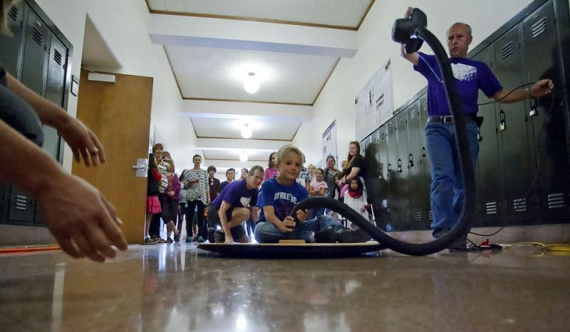 Community Kids get Hands-On with Science at CWU