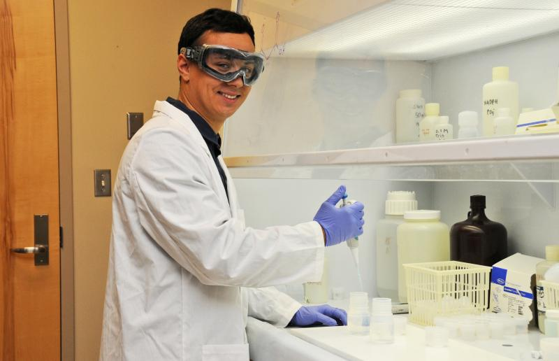 CWU Chemistry Major Awarded $50,000 EPA Undergraduate Fellowship