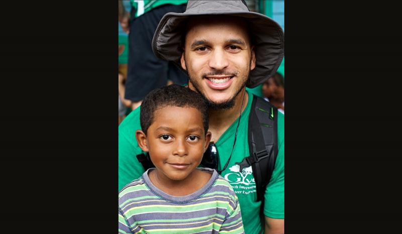 Seahawk Jermaine Kearse joins CWU Students in Nicaragua for Sustainable Development Course