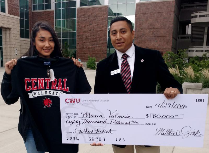 High School Senior Says Scholarship Award is Like Winning the Lottery