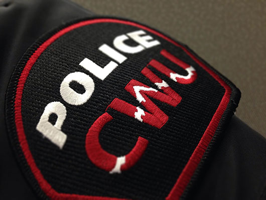 photo of CWU police patch